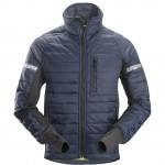 giacca invernale imbottita AllroundWork navy e nero