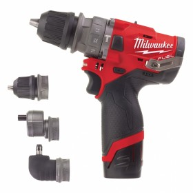 Avvitatore Milwaukee M12 con tre mandrini intercambiabili