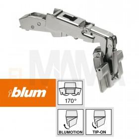 Cerniere per mobili Angolo apertura ante in legno 170°. Clip Top Blum