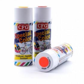 Vernice o colore spray fluorescente colori: Giallo, Arancione e Rosso