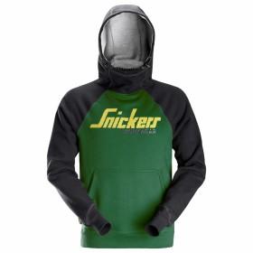 Felpa da lavoro con cappuccio - Snickers 2889 - Colore Verde