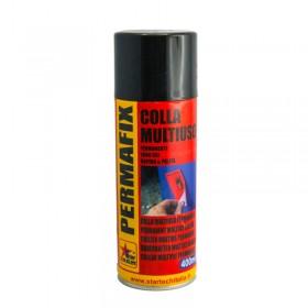Colla Spray multiuso permanente Permafix Adesivo universale