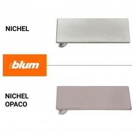 Piastrina portafondello da incollare - per ante in cristallo - Blum