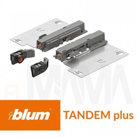 Set per sistema tip-on per guide Tandem Plus di Blum