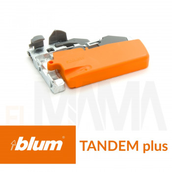 Gancio frizione destra per guide cassetti tandem Blum