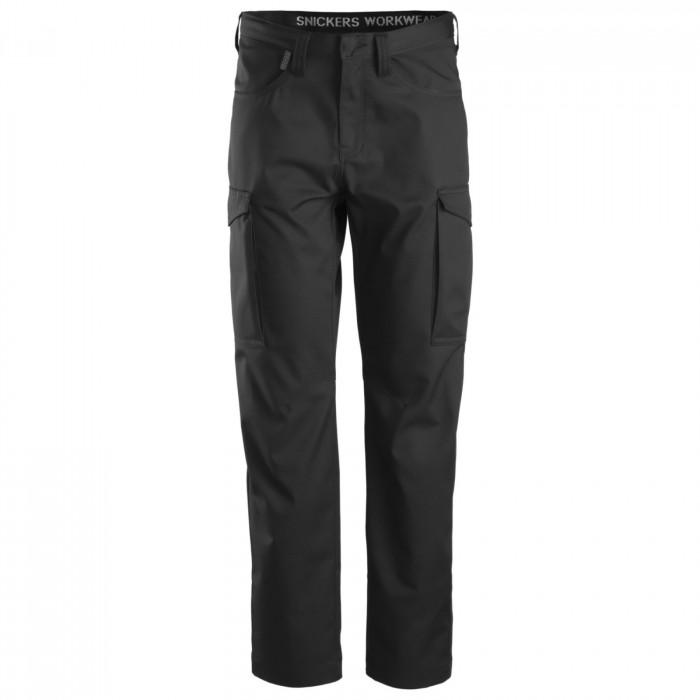 Pantalone Service senza porta ginocchiere Snickers Workweare nero