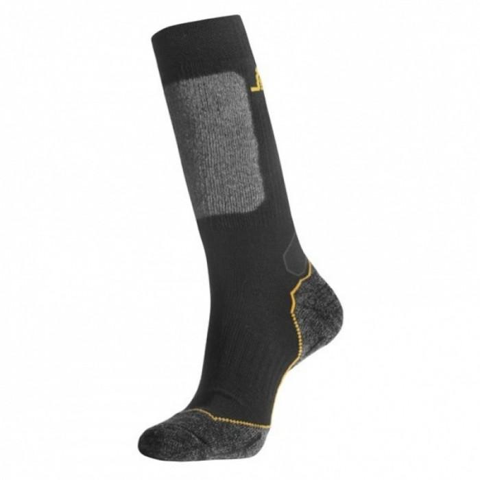 calzini lunghi in misto lana Snickers nero e grigio