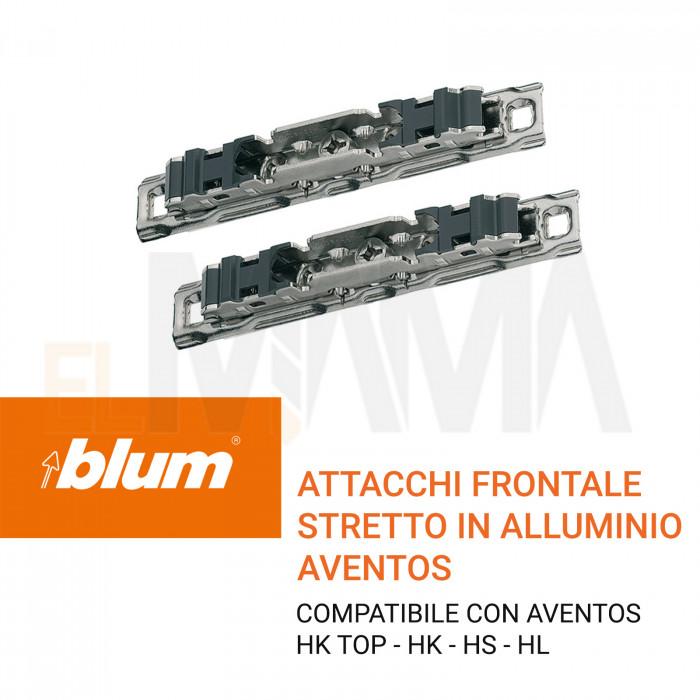 Attacchi per frontali in alluminio stretti AVENTO HK HS HL