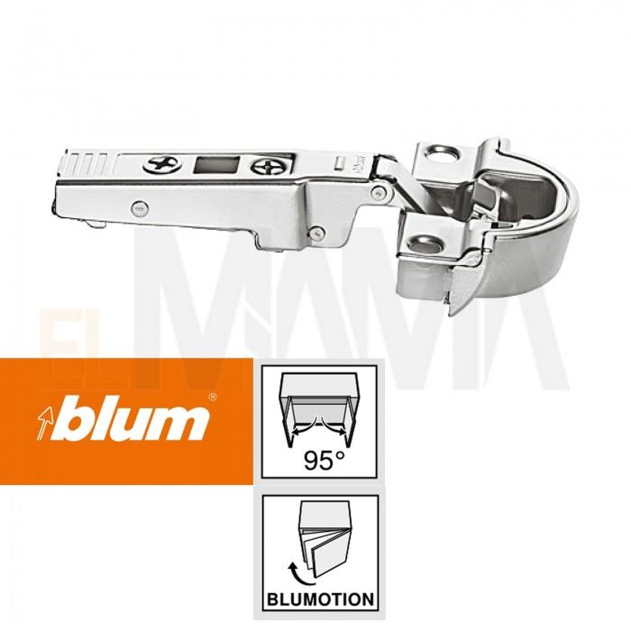 Cerniera ammortizzata per telai stretti in alluminio | Blum