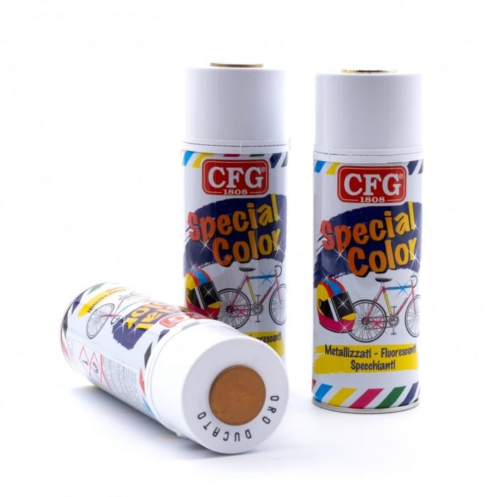 Bombolette colore spray oro e argento