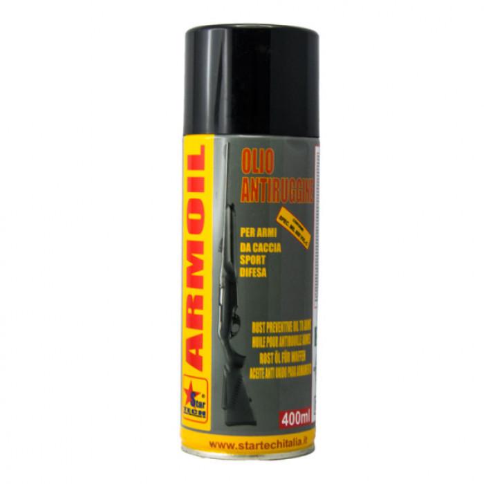 Olio lubrificante per proteggere e pulire le armi