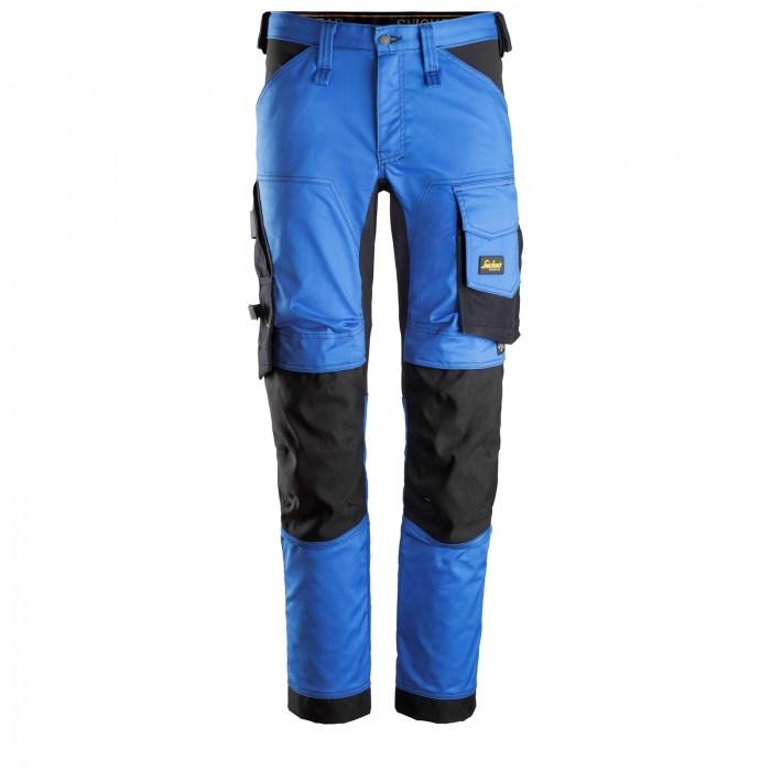 Pantaloni elasticizzati da lavoro Azzurri e Neri - Snickers 6341