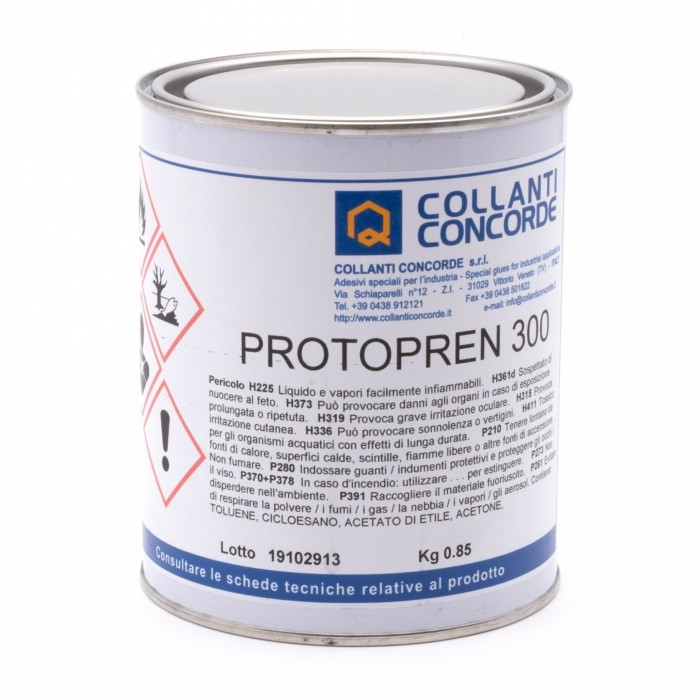 Protopren 300 Adesivo a contatto per laminato plastico con truciolare