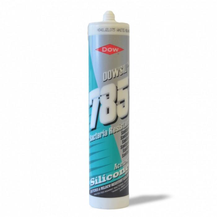 Silicone acetico per sanitari - Antimuffa