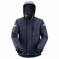 giacca invernale impermeabile di Snickers navy e nero
