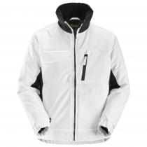 giacca da lavoro invernale Rip-stop bianco e nero