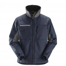 giacca invernale da lavoro Rip-stop navy e nero