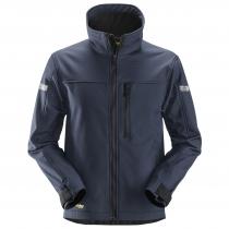 giacca AllroundWork softshell navy e nero