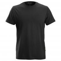 T-shirt cotone classica nero