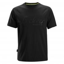Snickers T-Shirt con logo nero