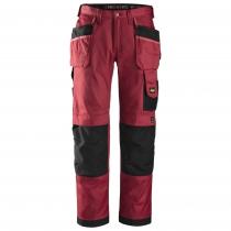 pantalone Duratwill rosso e nero Snickers workweare