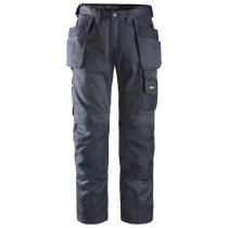 Pantaloni da lavoro Snichers Workweare con tasche esterne Duratwill navy