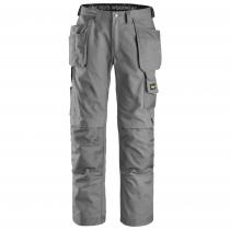 Pantaloni con tasche esterne Canvas grigio