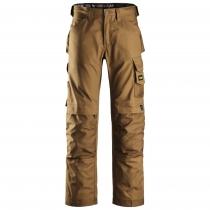 Pantalone da lavoro di Snickers Workweare canvas+ marrone