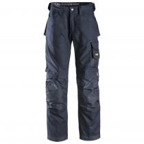 Pantalone di Snickers modello Canvas + senza tasche esterne navy