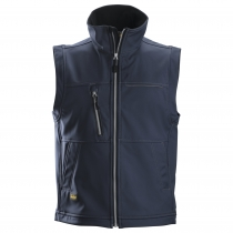 Soft shell gilet navy