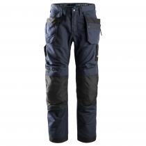 Pantalone Litework tasche esterne Navy e nero