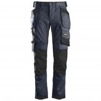 Snickers pantaloni da lavoro con tasche Stretch navy e nero