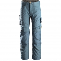 Pantalone Allroundwork moderno e versatile Snickers petrolio