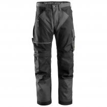 Pantaloni Ruffwork Snickers Worweare grigio e nero
