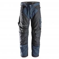 Pantaloni da lavoro Ruffword Snickers Workweare navy e nero