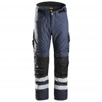 Pantalone Snickers Workweare invernale navy e nero