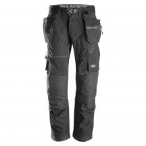 pantaloni Flexiwork con tasche leggeri e confortevoli Snickers nero