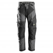 Pantaloni leggeri da lavoro Flexiwork Snickers grigio e nero