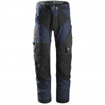 pantaloni Snickers da lavoro Flexiwork navy e nero