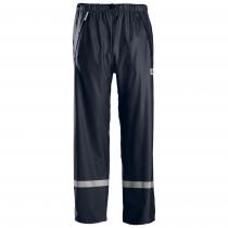 pantaloni impermeabili navy