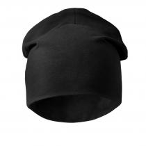 berretto in cotone personalizzabile nero