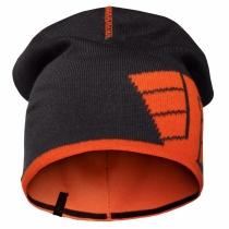 berretto Snickers reversibile navy e arancione