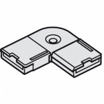 Disegno connettore ad angolo per strip led 10mm 12V di hafele