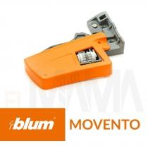 Frizione gancio Sinistra per guide scorrevoli per cassetti movento Blum