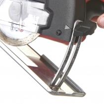 Regolazione del taglio sulla mini smerigliatrice milwaukee m12