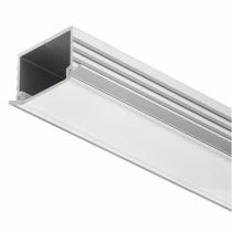Profilo ad incasso per strisce led altezza 11mm