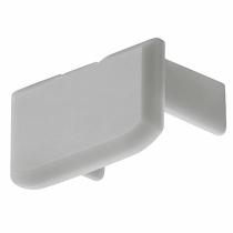 Tappo per profilo in alluminio per strisce led altezza 9,5 mm
