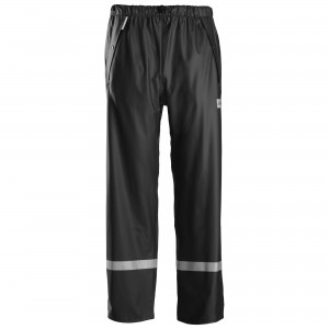 pantaloni impermeabili Snickers nero