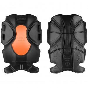 ginocchiere attive XTR D30 di Snickers nero e arancione