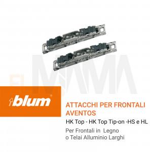 Attacchi per Frontale per Aventos HK top Blum
